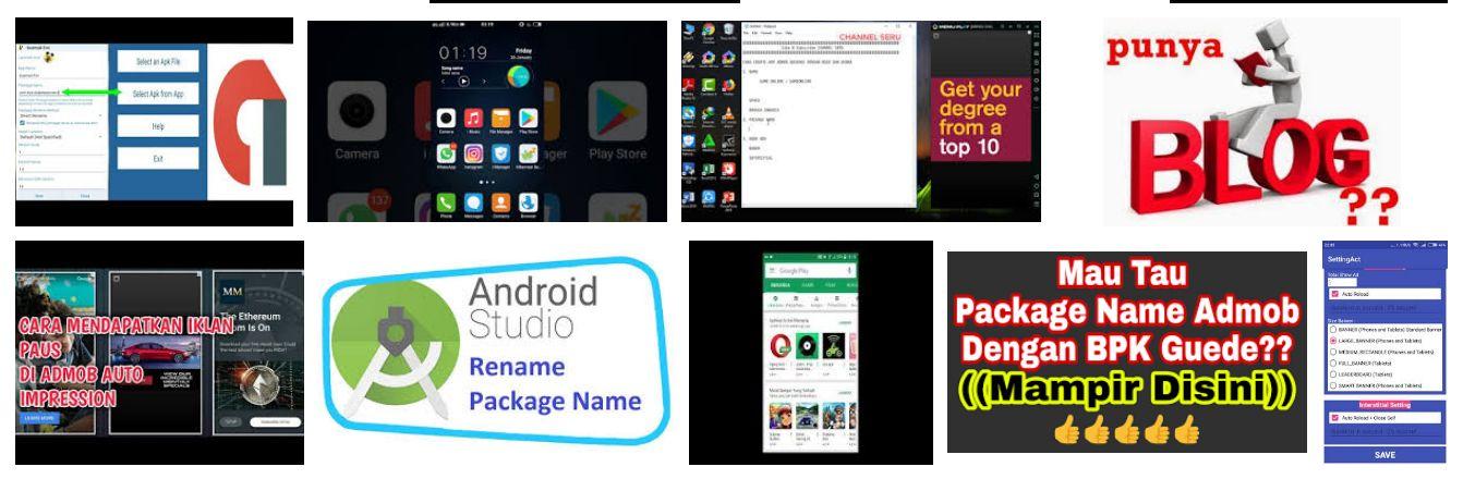 Package Name Admob Terbaru