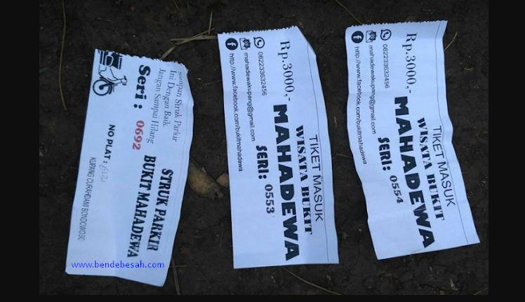 Tiket Masuk Wisata Bukit Mahadewa